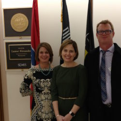 NTC Members visiting US Senator Lamar Alexander's DC Office